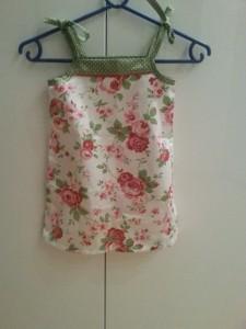 Sommerkleid aus Ikea-blümchen